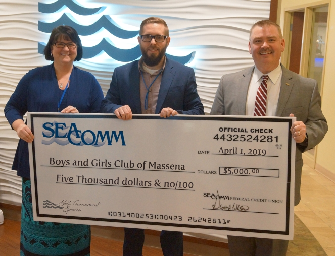 Boys and Girls Club Golf Donation2019